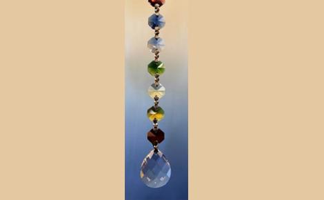 Feng-Shui chakra kristal